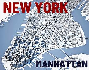 3D New York City Manhattan