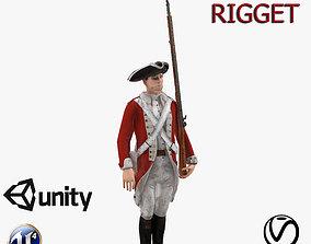 English soldier 3D asset