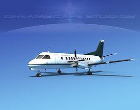 SAAB SF340 Cal Island Air 3D model