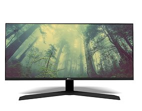 LG Ultra Wide Monitor 3D