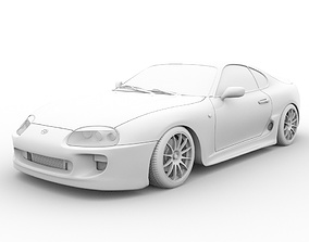 Toyota Supra MK4 3D model other