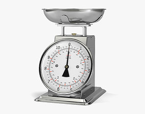 3D model weighing Kitchen Scale