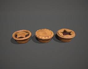 Mince Pies - Christmas Pies 3D model