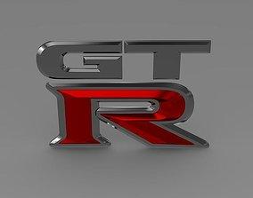 GTR logo 3D