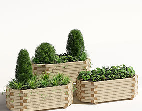3D Richmond planter