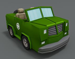 3D model Cartoon Jeep