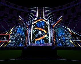 Concert Stage-Design 20210120C 3D model