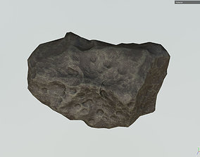 Low poly Realistic Meteor m6 3D model game-ready