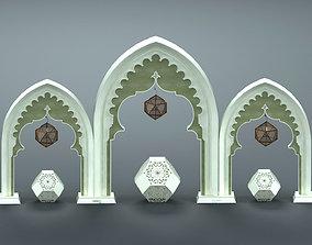 Ramadan Decoration Elements 3D