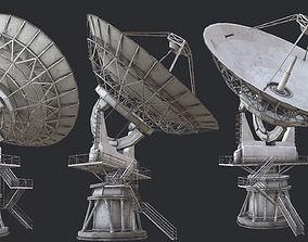 3D model Large Array Radio Telescope PBR