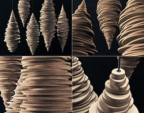 Parametric decor bulb n4 3D