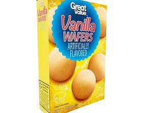 Great Value Vanilla Wafers 11 oz 3D asset