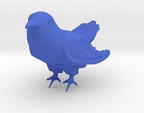chicken 3D print model Cuckoo Bird