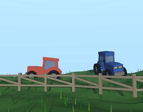 3D asset American Farm
