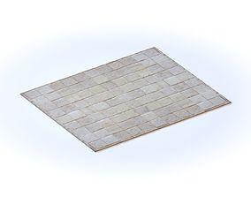 Restoration Hardware South American Cowhide Tile 3D model