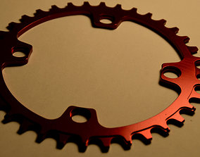 Narrow Wide Chainring 36T 104BCD 3D
