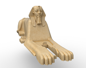 3D asset The Great Sphinx of Giza