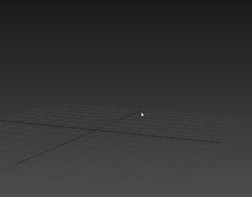 Parkour running 3D model