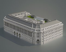 50 United Nations Plaza Federal Office Building 3D model