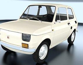 Fiat 126p 1978 3D model