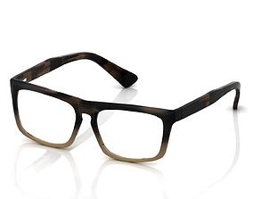 lady 3D print model Eyeglasses for Men and Women