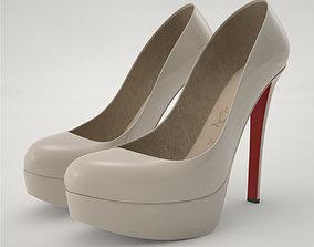 3D Pro - Louboutin High Heels Shoes