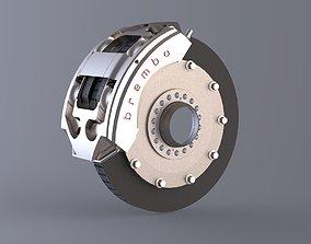 3D model Formula 1 Braking system Brembo