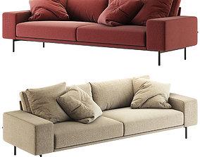 3D BT design Piu Triple Sofa
