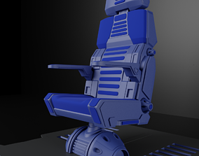 3D model future Sci Fi Bridge Chair
