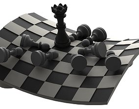 3D print model Chess deco