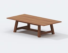Ralph Lauren Home - Sonora Canyon Dining Table 3D model