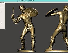 SPARTACUS toy soldier 3D printable model
