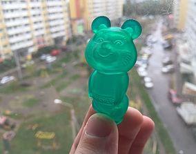 Russian bear souvenir 3D print model