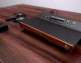 Atari 2600 4-switch 3D model