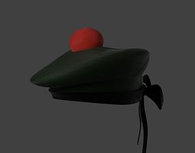 3D Simple Bonnet or Tam hat