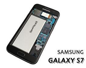 Galaxy s7 inside 3D
