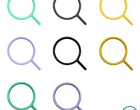 Search Symbol V1 Pack 03 3D model