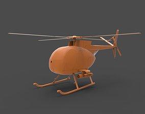3D print model Hughes OH-6 Cayuse