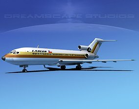 3D Boeing 727-100 Ladeco
