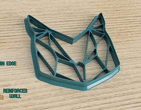 3D printable model GEOMETRICAL OWL- COOKIE CUTTER