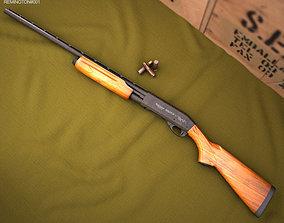 3D Remington Model 870