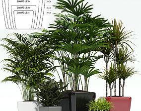interior Lechuza QUADRO LS 3D model