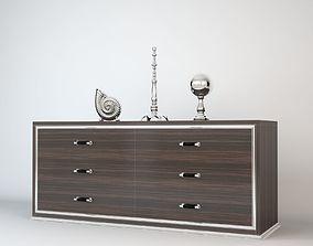 Fendi Venus Modern Cabinet realistic 3D model