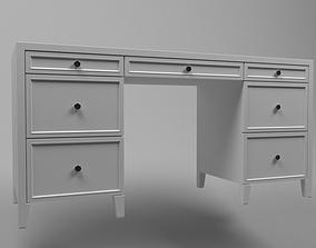 3D model dresser Writing desk