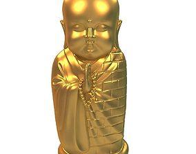 Buddhist monk 3D print model