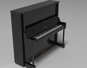 Acoustic Piano 3D asset