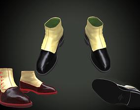 3D model Mens retro boots