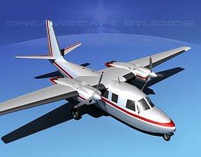 3D Rockwell Aero Commander 560 V01