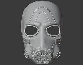 Borderlands 3 Psycho Mask 3D print model