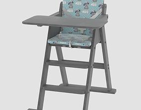 Highchair Ommi Creo 3D model